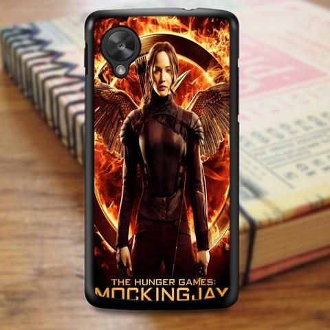 Hunger Games Mockingjay Logo Nexus 5 Case