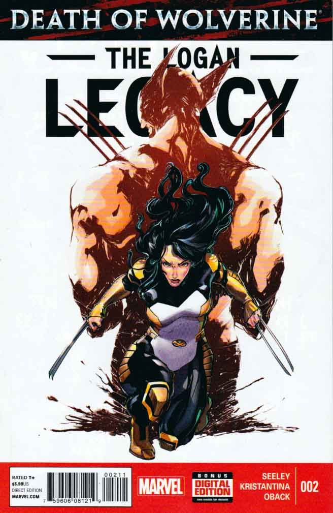 Death of Wolverine The Logan Legacy #2 Regular Ariela Kristantina Cover Mint (2014) Marvel  Featuring X-23! When X-23 learns about the death of the man who has meant so much to her, who has shaped her purpose, her motivations, her LIFE, will she revel in the fact that her mission is over, or will she go ROGUE? And what does this mean for her relationship with the All-New X-Men?