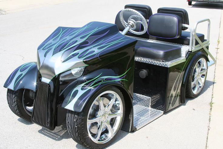 19 best harley davidson golf cart images on pinterest harley davidson golf carts and vintage golf. Black Bedroom Furniture Sets. Home Design Ideas
