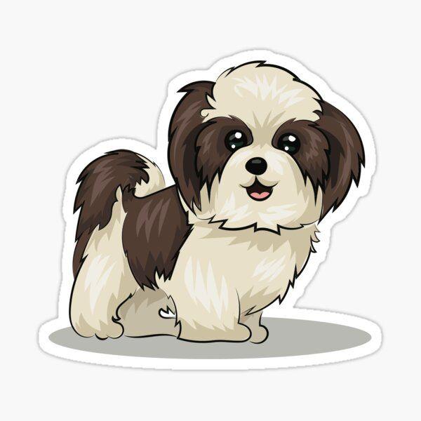 Perrito Shitzu Millones De Disenos Originales Hechos Por Artistas Independientes In 2021 Dog Drawing Shih Tzu Puppy Shih Tzu Dog