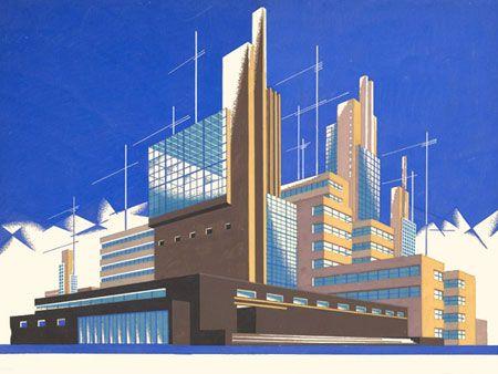 Iakov Chernikhov, «Architectural Fantasies», 1925-1933
