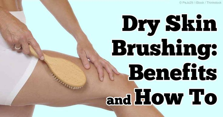 Dry skin brushing not only removes dead skin cells but also activates waste removal via your lymph nodes. http://articles.mercola.com/sites/articles/archive/2014/02/24/dry-skin-brushing.aspx