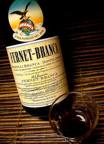 The beloved Fernet Branca, originally from Italy, is an Argentine staple with Coca Cola