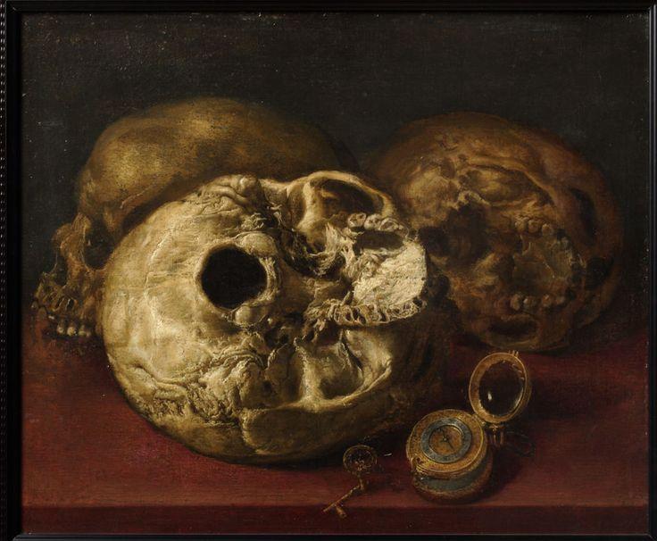 Museo de Zaragoza   Vánitas. Óleo sobre lienzo. Antonio de Pereda. Barroco. Hacia 1660. Inv. 10644.