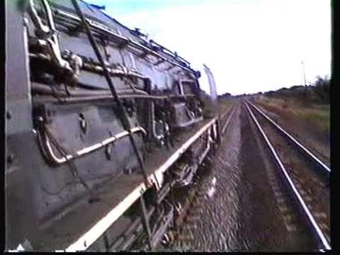 South African Railways 25NC 3467 De Aar to Kimberley 1992,MPG