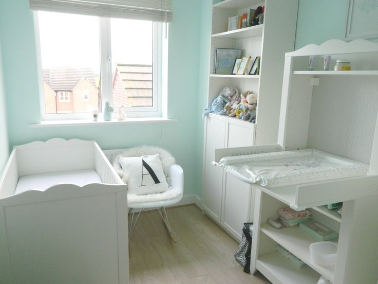 put wardrobes in the main bedroom and pop windows into our walkin closet to make a nursery room for and free up that space for in the current baby room