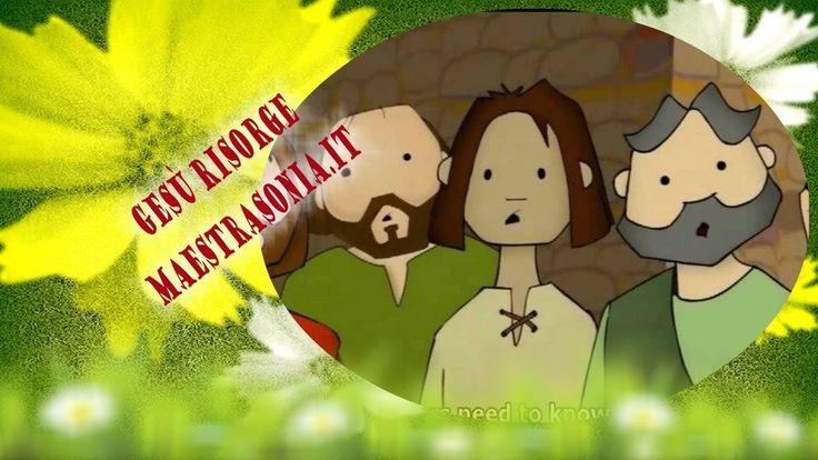 Gesù risorge - Piccola Bibbia per bambini - maestrasonia.it