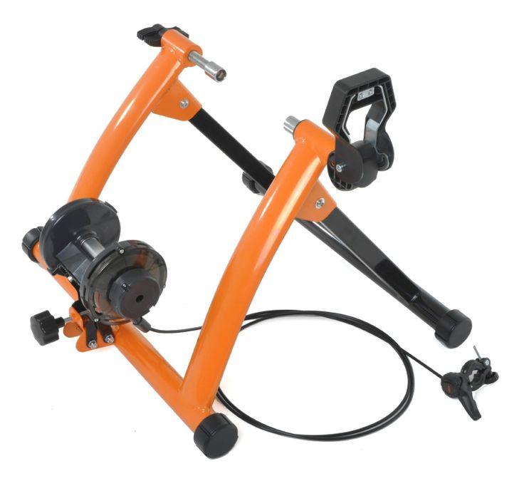 Conquer Indoor Exercise Bike Trainer Stand, Orange $64.95