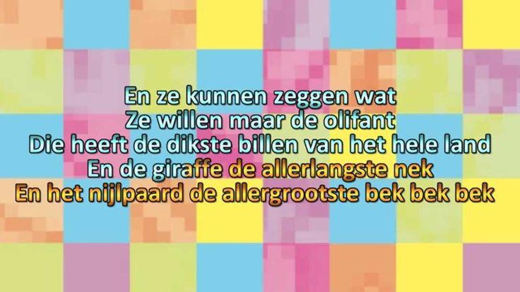 Minidisco Karaoke - Ze Kunnen Zeggen Wat Ze Willen NL