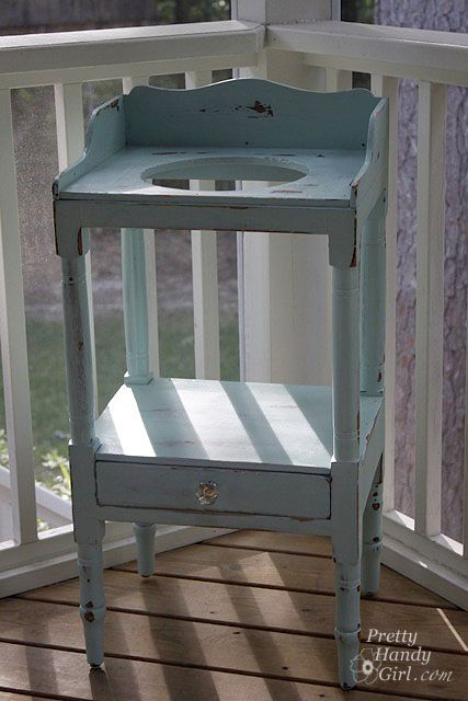 an old wash-stand