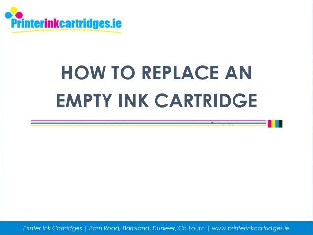 Need to replace your empty ink cartridges? While every inkjet #Printer is a little different, they all follow the same basic steps. Find solutions to replace an empty ink cartridge through this #Troubleshooting guide.