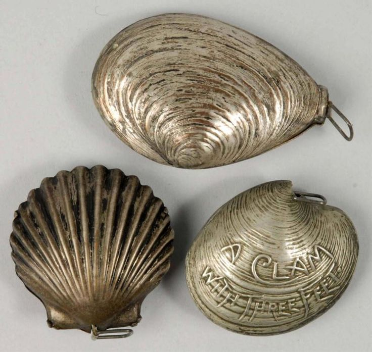 Vintage shellfish tape measures