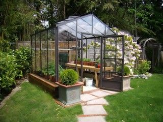 The Legacy 8x8 Greenhouse - contemporary - greenhouses - other metro - by BC Greenhouse Builders Ltd
