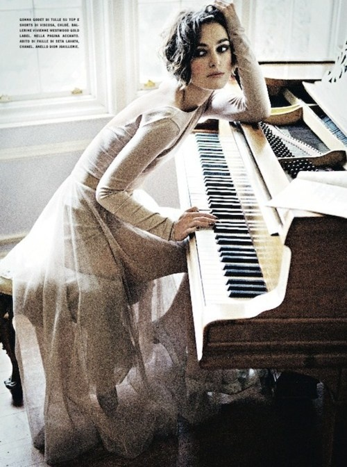 at the piano is where I do a lot of my thinking, whether it has to do with music or not...