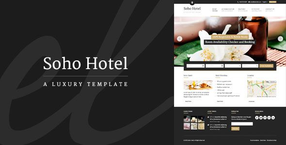 Soho Hotel allows you to easily create a website which works for your hotel – receive and manage bookings, payments and guest queries with ease.
