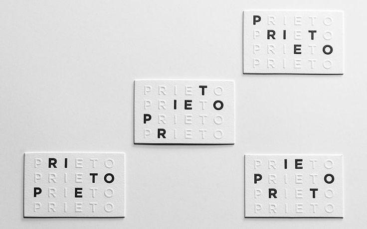 Prieto Estudio Identity Materials