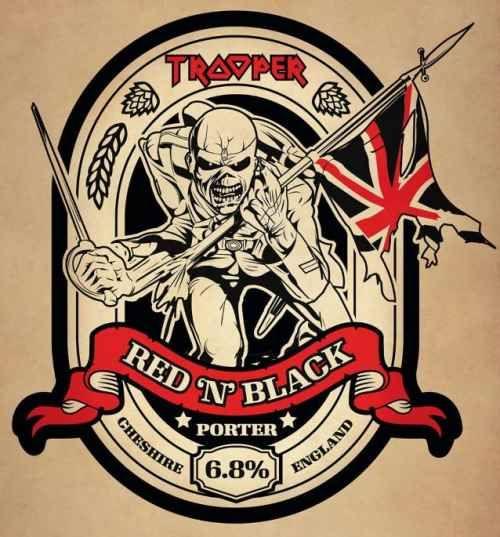 "IRON MAIDEN: Έρχεται η ""Trooper Red 'N' Black"""