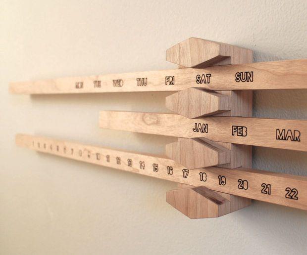 Perpetual Calendar Wood : Best ideas about wooden calendar on pinterest diy