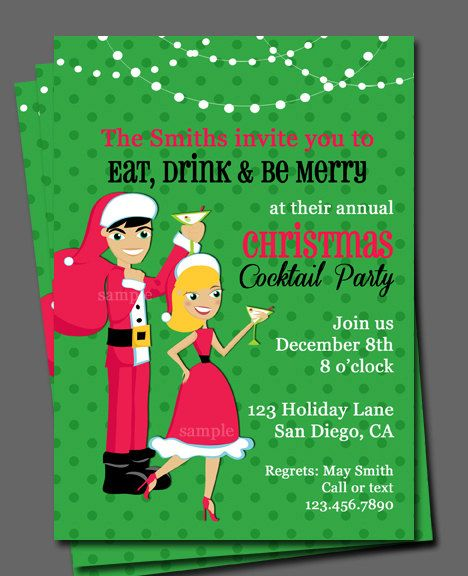83 best images about Christmas Party Invitations – Christmas Cocktail Party Invitation Wording
