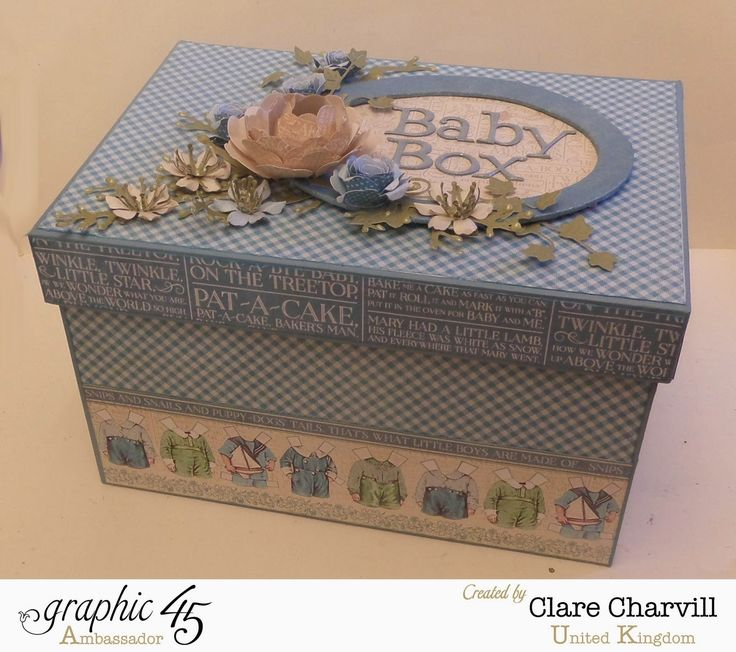 My Creative Spirit: Welcome Baby with a Precious Memories Keepsake Box