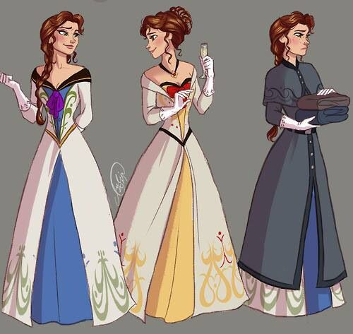 Princess Hanna << I'm not a fan of genderbend, but this is actually kind of cool.