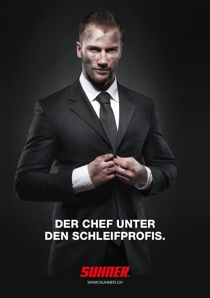 Werbekampagne Suhner AG
