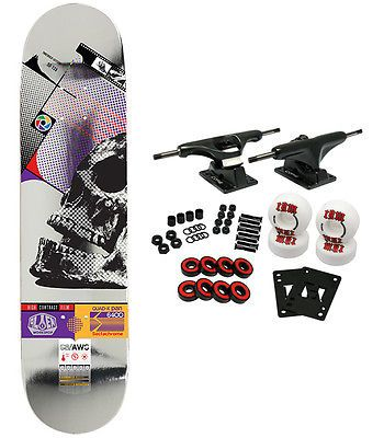 Skateboards-Complete 16264: Alien Workshop Skateboard Complete Sectachrome Skull 8.0 -> BUY IT NOW ONLY: $62.95 on eBay!