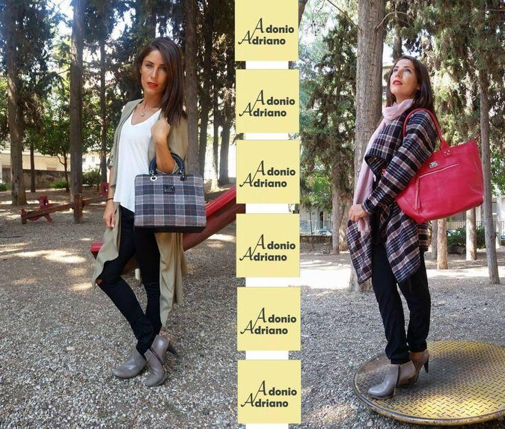 SUPER ΔΙΑΓΩΝΙΣΜΟΣ με 2 εκπληκτικές μοδάτες τσάντες ADONIO ADRIANO !!
