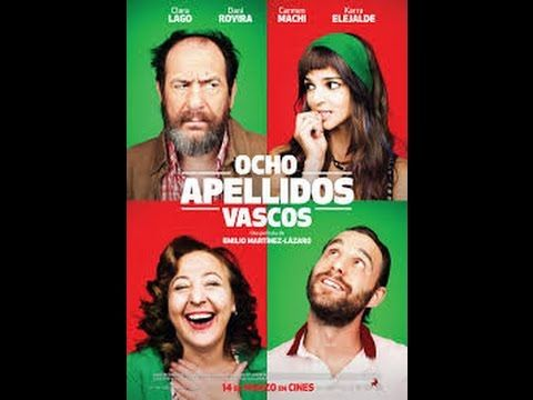 """Ocho apellidos vascos"" Película completa en español"