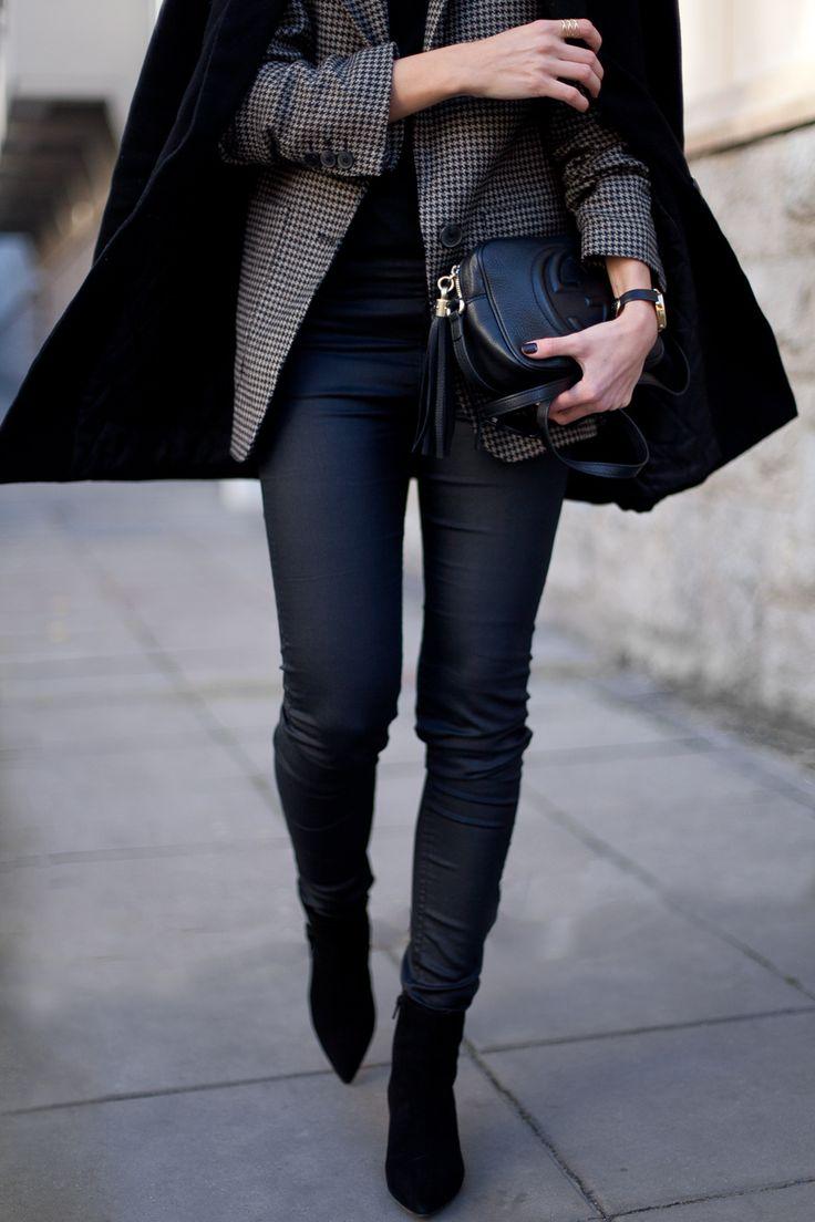 HOUNDSTOOTH JACKET FashionMugging waysify
