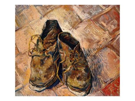 A pair of shoes - Van GoghVans Gogh, Degree Flan, Van Gogh, C Estes Beau