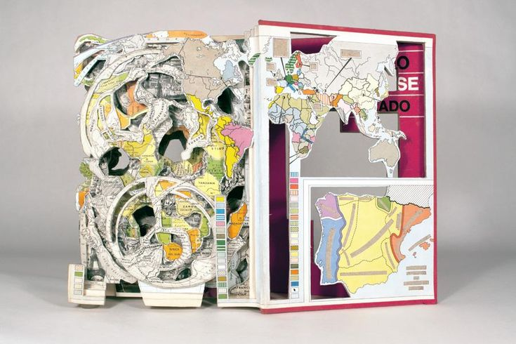 What a amazing book of maps by Brian Dettmer