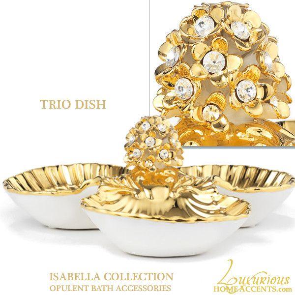 Best Swarovski Crystal Luxury Bathroom Accessories Images On