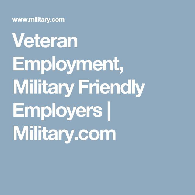 Veteran Employment, Military Friendly Employers | Military.com