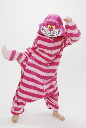 Cheshire Cat pjs.... why does this look so comfy?