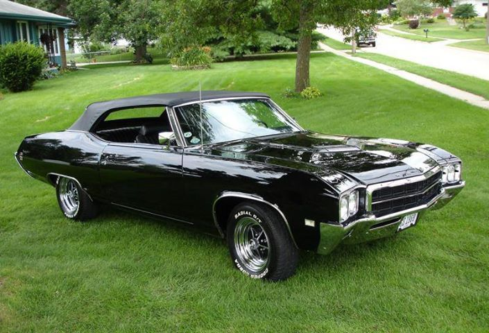 1969 Buick Skylark GS Stage 1 convertible. One of 77 ...