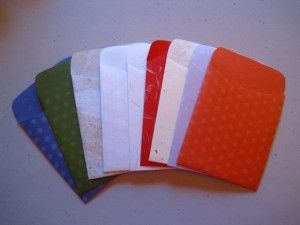 Paper, Lovely Paper: Making Library Pockets for Your Journal on http://www.createmixedmedia.com