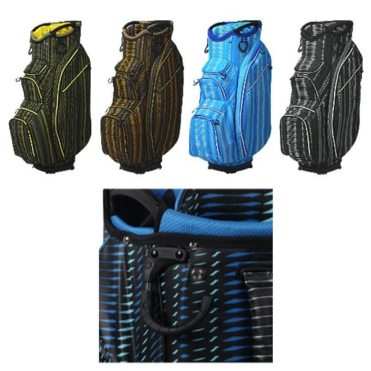 OUUL announces the introduction of its Python Super Light Cart Bag featuring functional styling dynamic fabric designs and superior weighting.  The Python Cart Bag is part of the vibrant Python Collection featuring materials that display the same bold colors and patterns as reflected in a Pythons skin. The complete collection showcases the overlapping scales and distinct skin patterns of a Python. We pride ourselves in designing and developing all of our own materials which is unique in this…