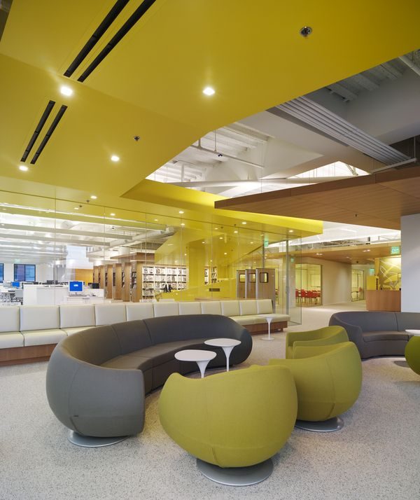 FIDM San Diego Campus by Clive Wilkinson Architects , via Behance