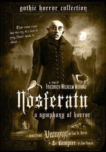 Nosferatu -- An unauthorized adaptation of Bram Stoker's Dracula, NOSFERATU is the quintessential silent vampire film, crafted by legendary German director F. W. Murnau (SUNRISE, FAUST, THE LAST LAUGH).