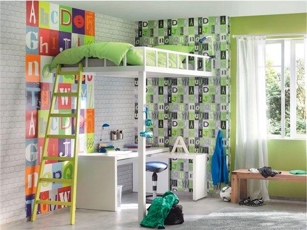 Стильные обои для детской комнаты: идеи для вдохновения