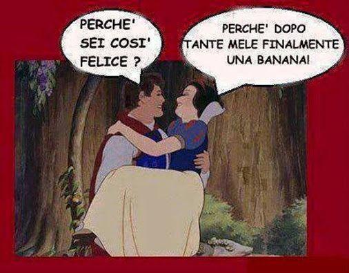 #umorismo #vignette #biancaneve
