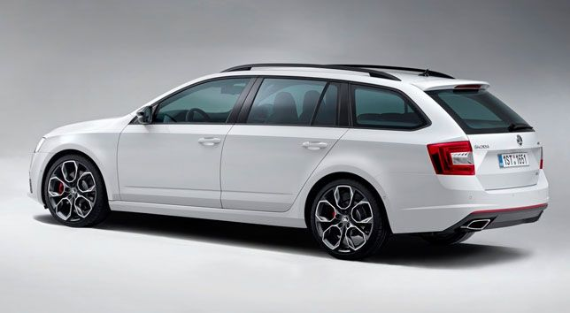 Feature on the ŠKODA Octavia RS Wagon #skoda #rs