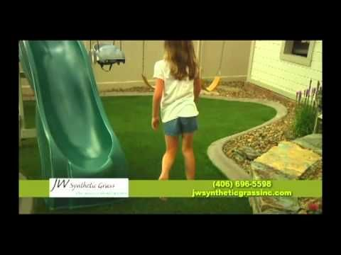 Synthetic Grass Lawns and Putting Greens - YouTube