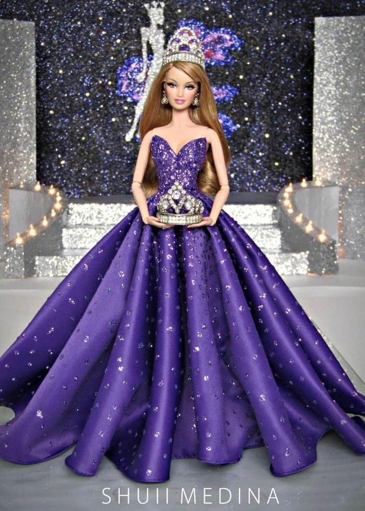 картинки красивые платья для барби