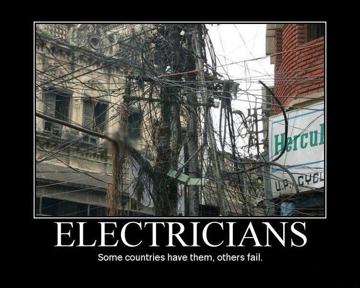 #Electrician #Humor #JohnMooreServices #HoustonTexas