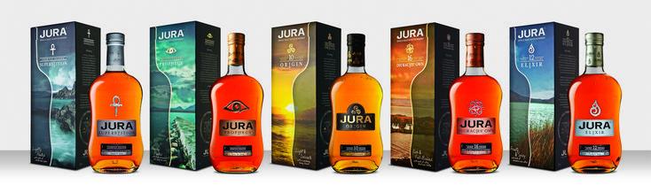 New Jura packaging. Fantastic bold photography!
