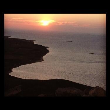 Bozcaada ve gün batımı...
