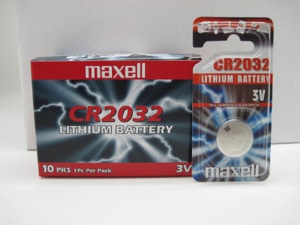 BATTERIA MAXELL CR 2032 BLISTER 1 PZ
