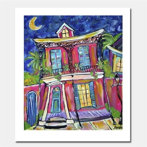 11 best nawlins style art images on pinterest louisiana for Funky house artists